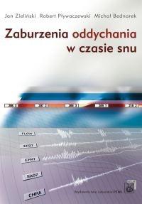 Okładka książki Zaburzenia oddychania w czasie snu