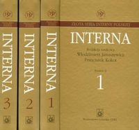 Okładka książki Interna   t.1-3 - Januszewicz W., Kokot F.