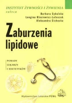 Okładka książki Xaburzenia lipidowe. Porady lekarzy i dietetyków.