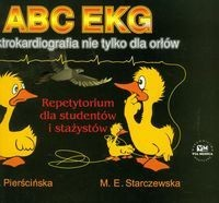 Okładka książki ABC EKG Elektrokardiografia nie tylko dla orłów.