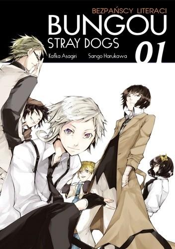 Okładka książki Bungou Stray Dogs - Bezpańscy Literaci #1