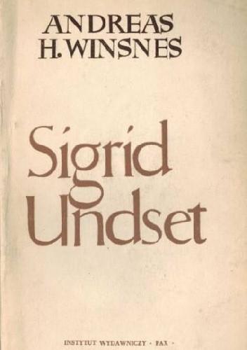 Okładka książki Sigrid Undset