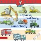 Koparki, traktory, samochody