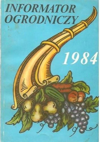 Okładka książki Informator ogrodniczy 1984