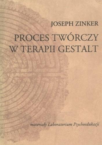 Okładka książki Proces twórczy w terapii Gestalt