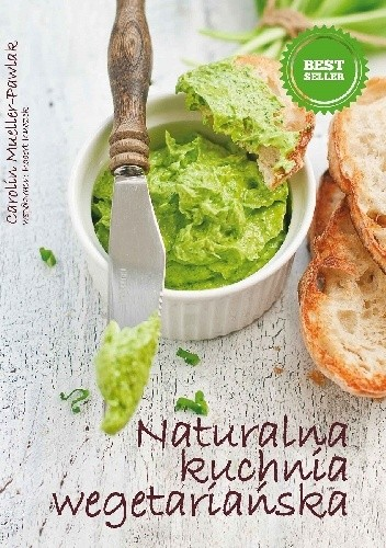 Okładka książki Naturalna kuchnia wegetariańska