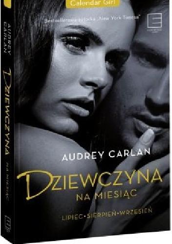Okładka książki Dziewczyna na miesiąc.  Lipiec - Sierpień - Wrzesień