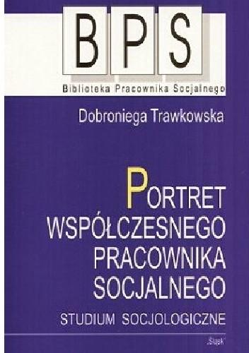 Okładka książki Portret współczesnego pracownika socjalnego