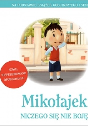 Okładka książki Mikołajek. Niczego się nie boję