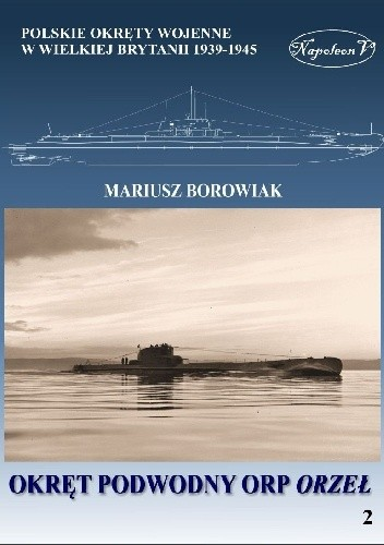 Okładka książki Okręt podwodny ORP Orzeł