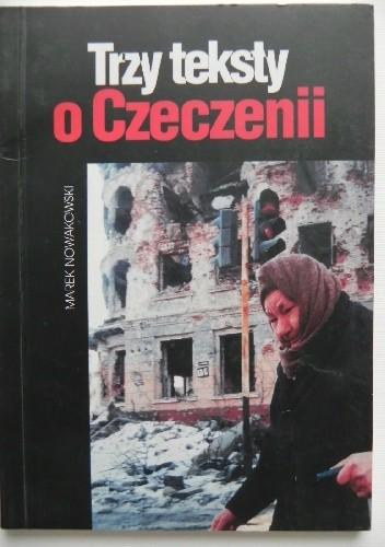 Okładka książki Trzy teksty o Czeczenii