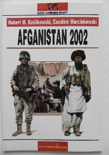 Okładka książki Afganistan 2002