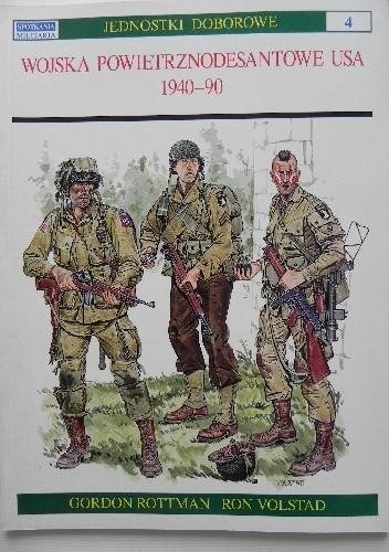 Okładka książki Wojska powietrznodesantowe USA 1940-90