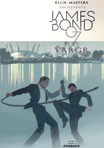 Okładka książki James Bond #5 - VARGR