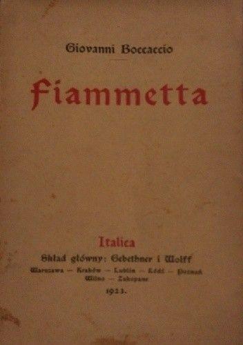 Okładka książki Fiammetta