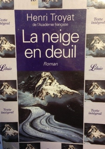 Okładka książki La neige en deuil