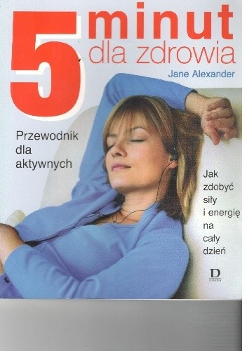 Okładka książki 5 minut dla zdrowia