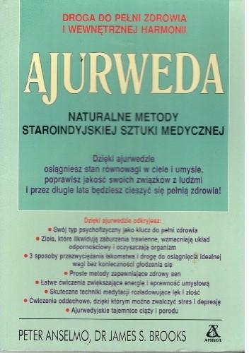 Okładka książki Ajuwerda.Naturalne metody staroindyjskiej sztuki medycznej