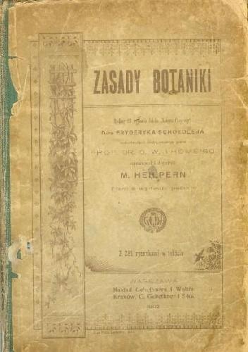 Okładka książki Zasady botaniki