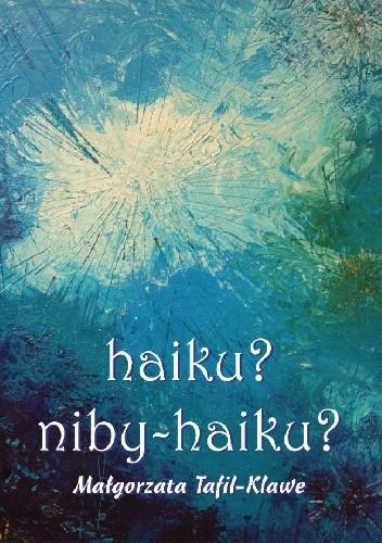 Okładka książki haiku? - niby haiku?