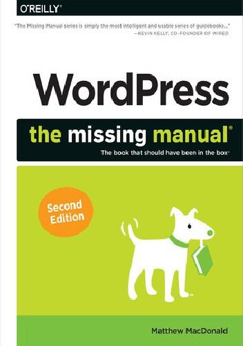 Okładka książki WordPress: The Missing Manual