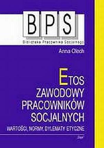 Okładka książki Etos zawodowy pracowników socjalnych
