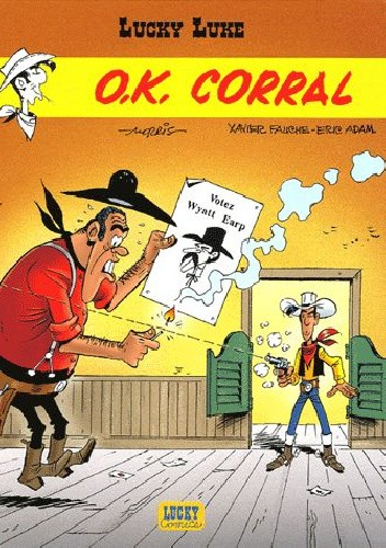 Okładka książki Lucky Luke - O.K. Corral