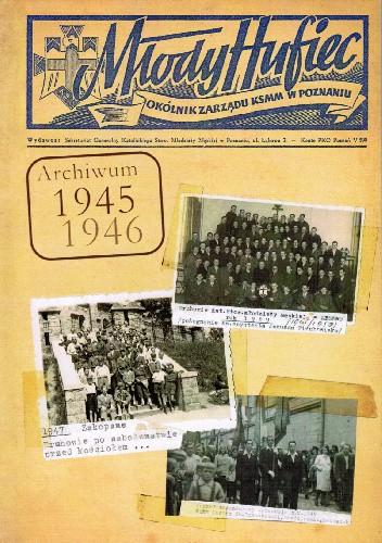 Okładka książki Młody Hufiec 1945-1946