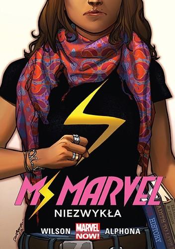 Okładka książki Ms Marvel: Niezwykła