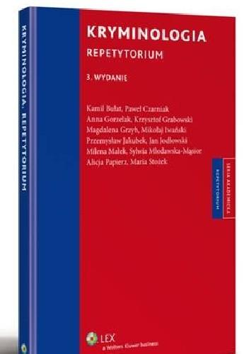 Okładka książki Kryminologia. Repetytorium