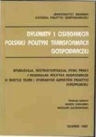 Polityka gospodarcza okresu transformacji