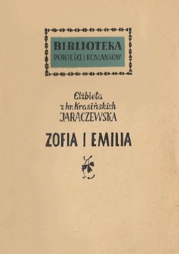 Okładka książki Zofia i Emilia