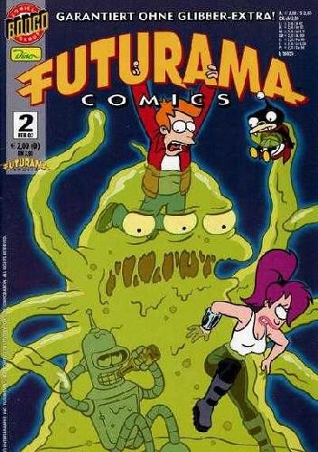 Okładka książki Futurama #2