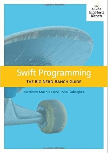 Okładka książki swift programming the big nerd ranch guide