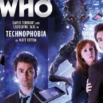 Okładka książki Doctor Who: Technophobia