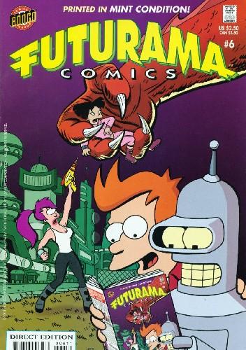 Okładka książki Futurama #6