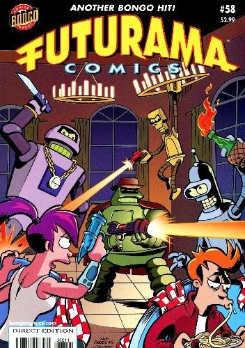Okładka książki Futurama #55