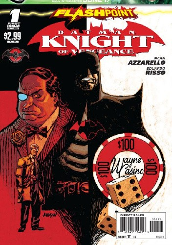 Okładka książki Flashpoint: Batman Knight of Vengeance #1