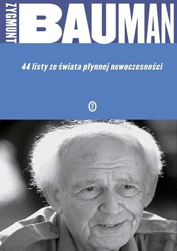 Okładka książki 44 listy ze świata płynnej nowoczesności