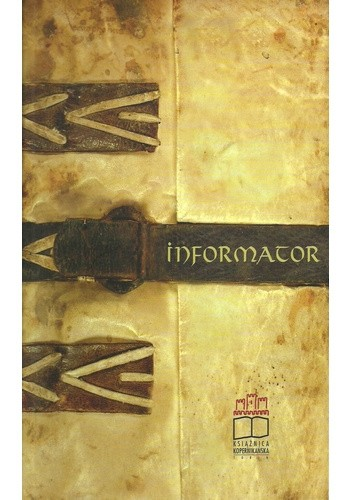 Okładka książki Informator o zbiorach i działalności Wojewódzkiej Biblioteki Publicznej Książnicy Kopernikańskiej w Toruniu