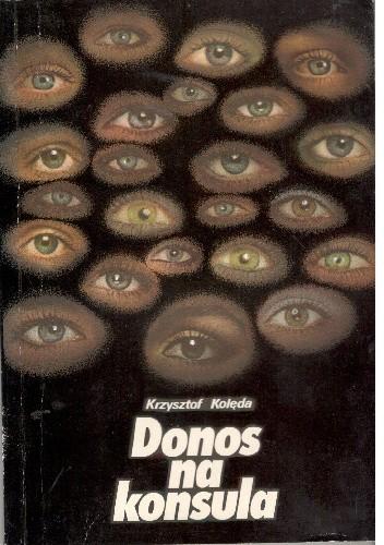 Okładka książki Donos na konsula
