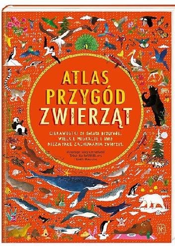 Okładka książki Atlas przygód zwierząt
