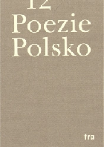 Okładka książki 12x poezie polsko
