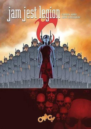 Okładka książki Jam jest Legion - wydanie zbiorcze