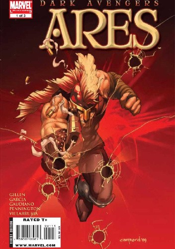 Okładka książki Dark Avengers: Ares #1