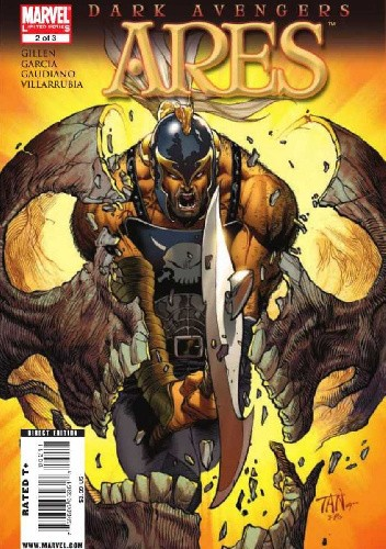 Okładka książki Dark Avengers: Ares #2