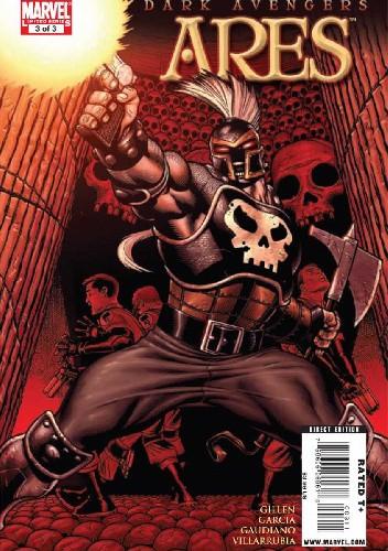 Okładka książki Dark Avengers: Ares #3