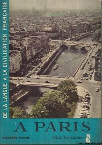 Okładka książki À Paris.  Première partie