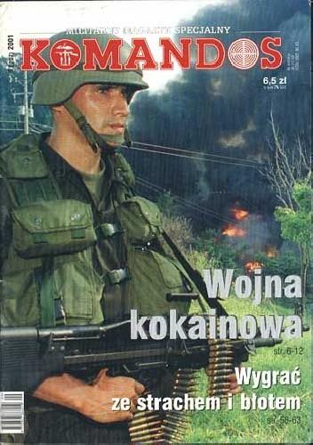 Okładka książki Komandos 9/2001