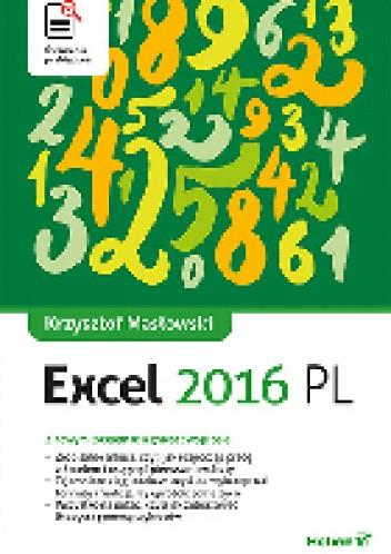 Okładka książki Excel 2016 PL